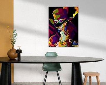 Sabo Eendelig WPAP ART van miru arts