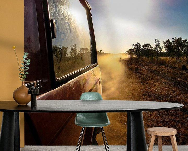 Sfeerimpressie behang: Op reis in de Outback van Pieter Navis