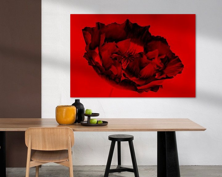 Sfeerimpressie: zwart&rood van Yvonne Blokland