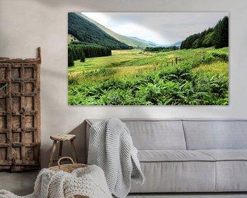 Moffat Water Valley van Gisela Scheffbuch