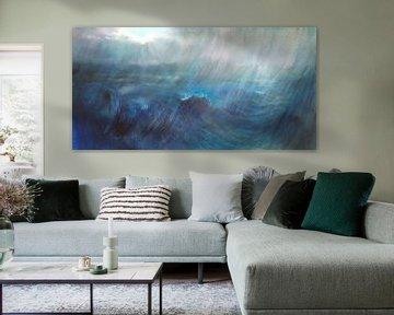 Stürmische See von Annette Schmucker