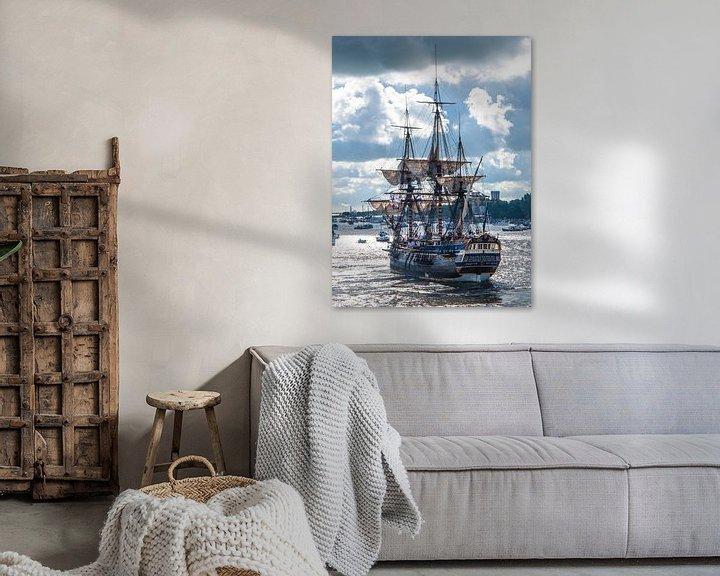 """Sfeerimpressie: Zeilschip """"Gotheborg"""" van Alex Hiemstra"""