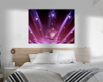 Strahlende Kristalle von Heidrun Carola Herrmann