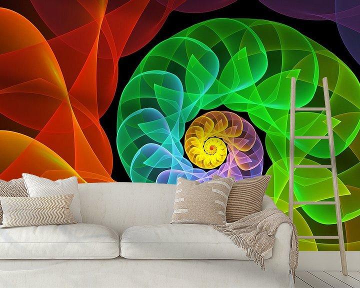 Beispiel fototapete: Die Farben und das Licht von gabiw Art
