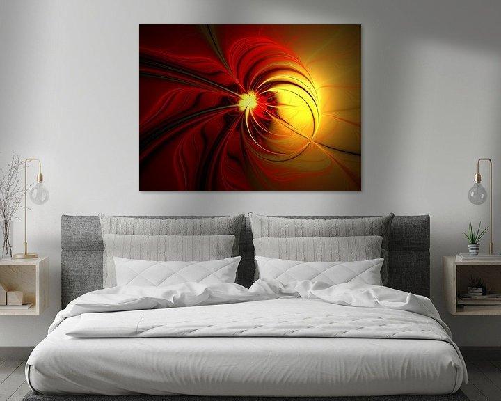 Beispiel: Magie in Rot-Gold von gabiw Art