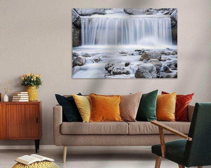 Sfeerimpressie: Waterval in de winter van Ratna Bosch
