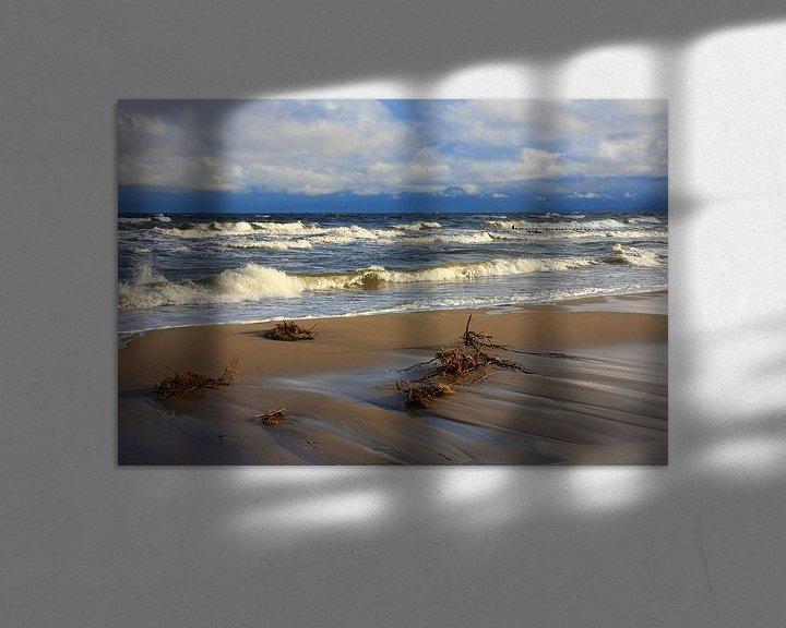Beispiel: Ostseestrand von Marcel Schauer