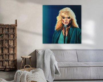 Deborah Harry schilderij von Paul Meijering