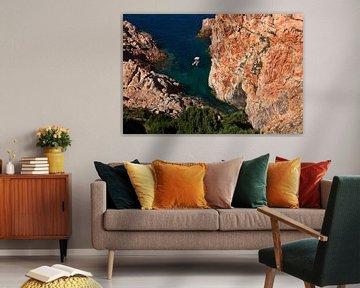 Mediterraanse baai van Mark Leeman