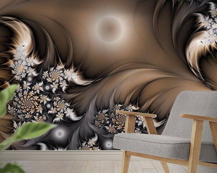 Sfeerimpressie behang: Garden of the Future van gabiw Art