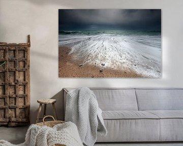Stormy waves van Olha Rohulya