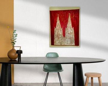 Kölner Dom - 3 van Barbara Mueller