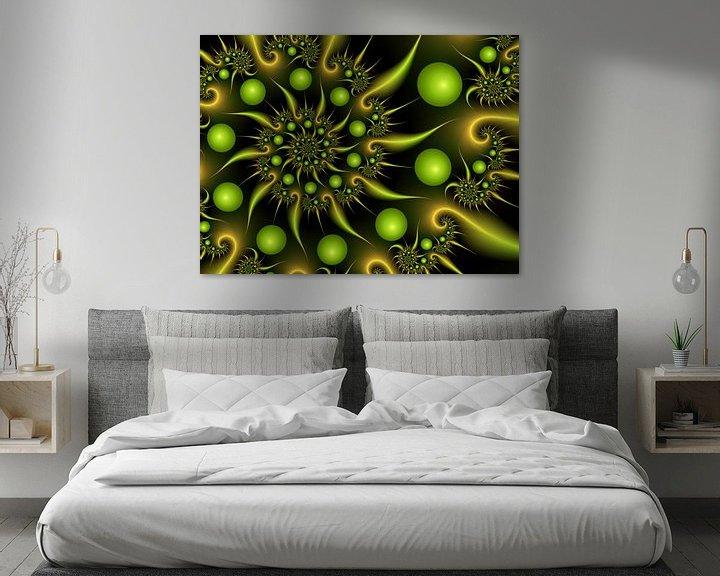 Beispiel: Grün-Gold von gabiw Art