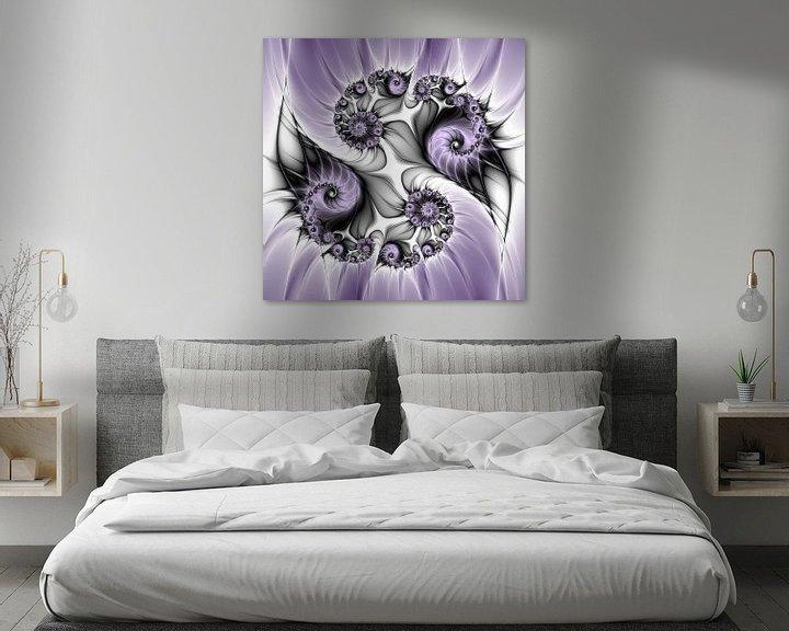 Beispiel: Purple Illusion von gabiw Art