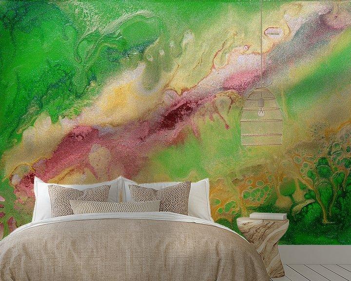 Sfeerimpressie behang: Abstract 12 van Julia Apostolova