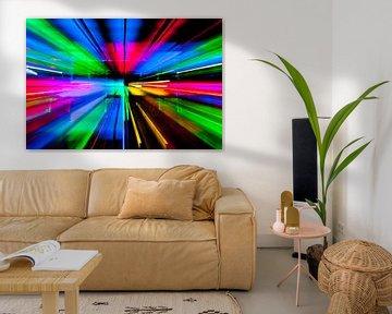 Explosie van Kleur/Color explosion von Peter van den Berg