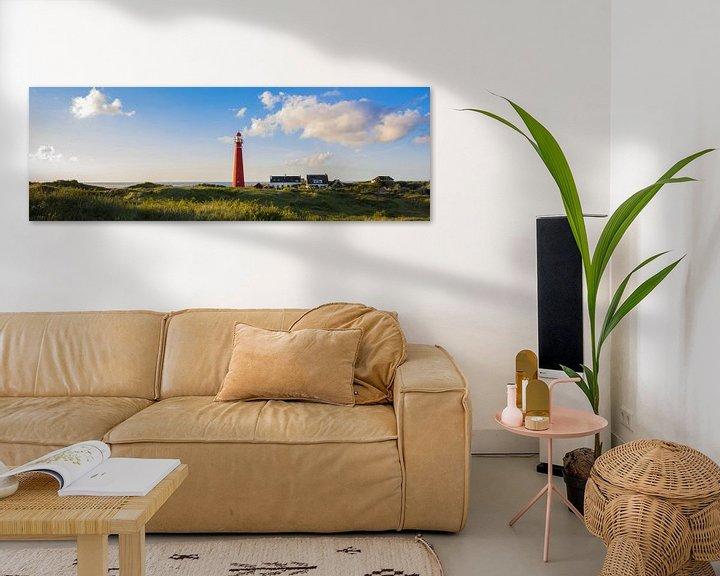 Beispiel: Leuchtturm Schiermonnikoog von Joris Beudel