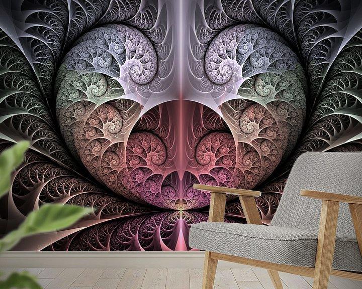 Beispiel fototapete: Heartbeat von gabiw Art