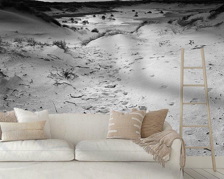 Sfeerimpressie behang: Nieuwe Duinen van David Hanlon