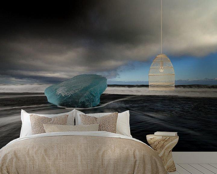 Beispiel fototapete: Blue ice von Lex Schulte