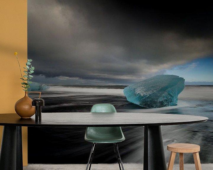 Sfeerimpressie behang: Ice van Lex Schulte