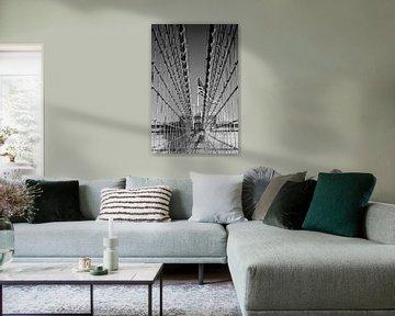 Brooklyn Bridge Details von Melanie Viola