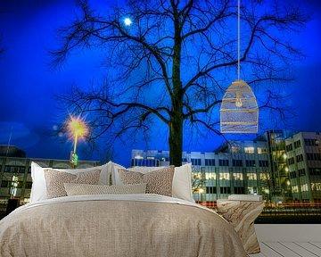 Zie de maan schijnt... van Kei(stad) Donker