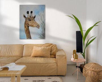 The Smiling Giraffe von Rhonda Clapprood