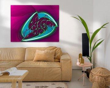Fraktal spirale von Roswitha Lorz