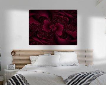 Rose Fractal von Christy Leigh