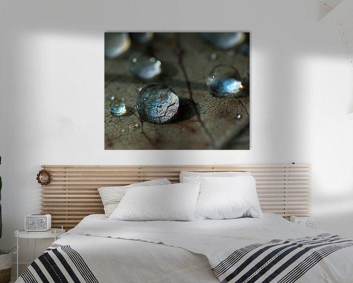 Sfeerimpressie: kristalheldere druppels van Anouschka Hendriks