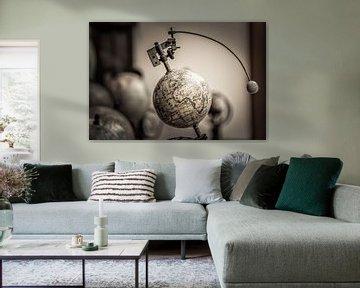 Earth and Moon Conjunction van juvani photo