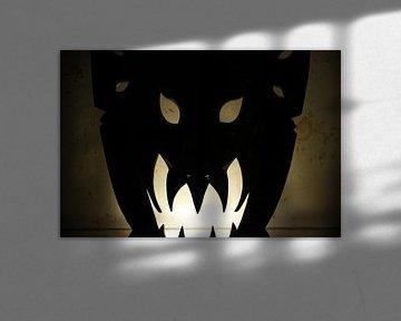 evil mask von Lisa de Blok