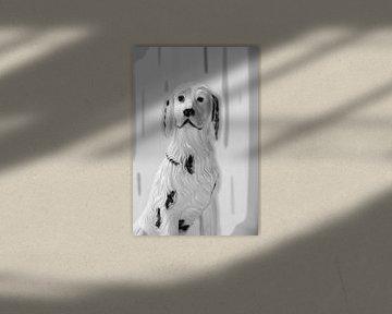Hond in Zwart en Wit sur e-STER design
