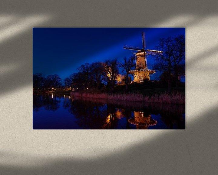 Sfeerimpressie: Molen van Piet - 2 van Mike Bing
