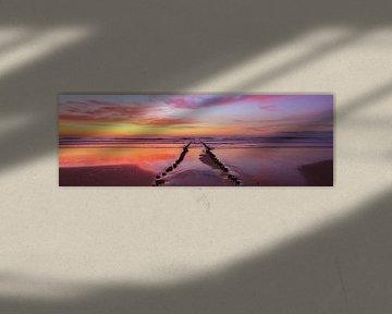 Fire Beach van Joris Beudel