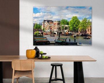 Amsterdam Amstel-Nieuwe Herengracht van Martien Janssen