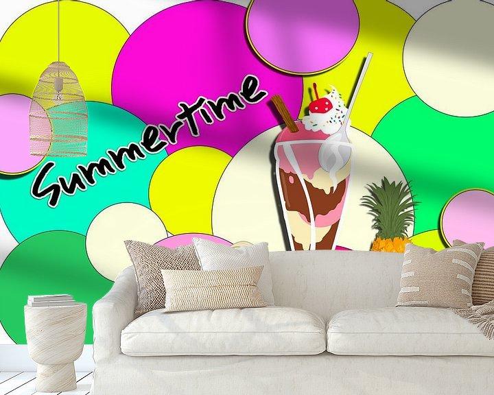 Beispiel fototapete: Summertime 2 von Roswitha Lorz