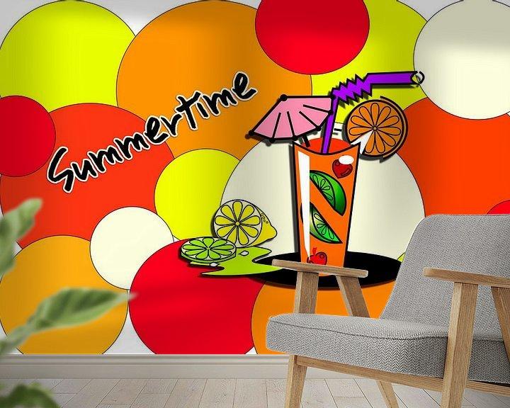 Sfeerimpressie behang: Summertime1 van Roswitha Lorz