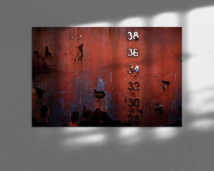 Sfeerimpressie: Gehavende scheepswand van Linda Raaphorst