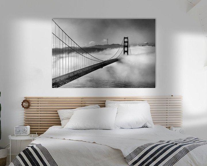 Sfeerimpressie: Crossing into San Francisco van Wim Slootweg