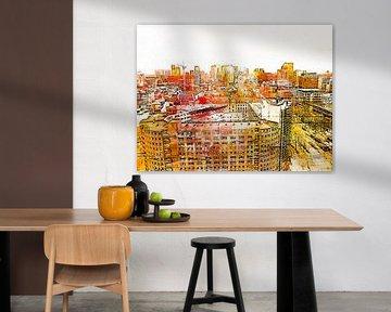 rotterdam-2 von Yvonne Blokland