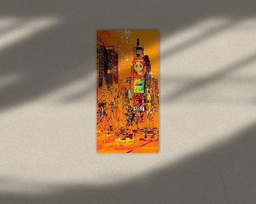 Digital-Art NYC Times Square III sur Melanie Viola