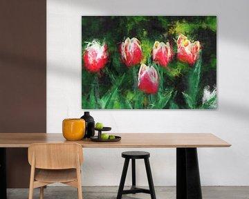 Tulpengruppe von Roswitha Lorz