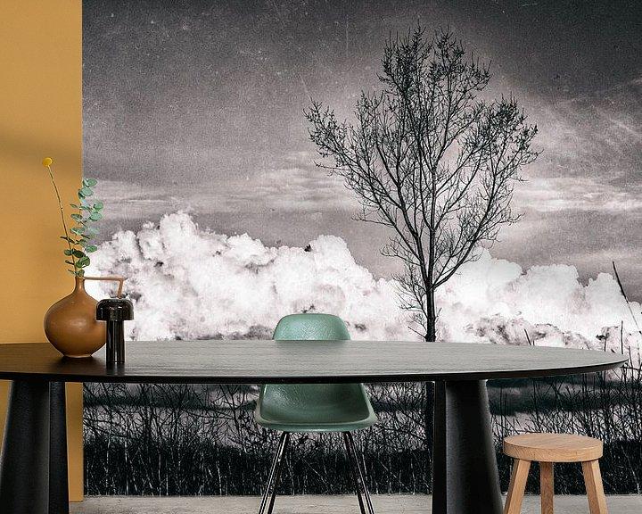 Sfeerimpressie behang: Landscape III van Rene Kuipers