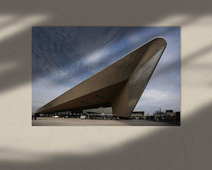 Beispiel: Centraal Station Rotterdam von Alice Berkien-van Mil