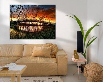 zonsondergang in Maximapark van fotosvan leidscherijn