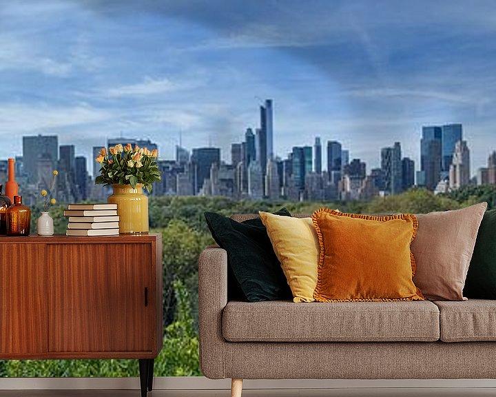 Sfeerimpressie behang: Central Park Manhattan View van Bob de Bruin