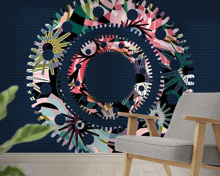 Beispiel fototapete: Pattern-9 von Pia Schneider