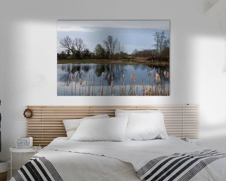Sfeerimpressie: Avond bij Beekbergerwoud van Maarten Krabbendam